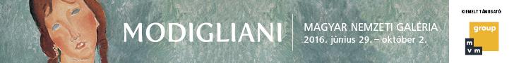 Szépművészeti Múzeum - Modigliani kiállítás