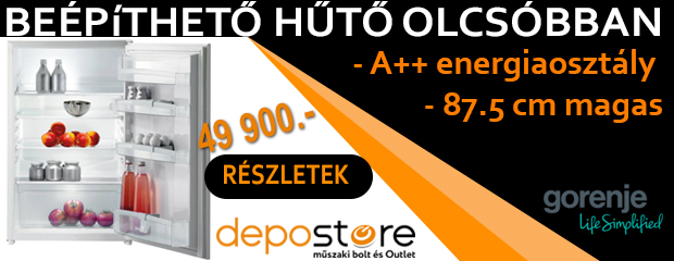 Depostore - bottom hűtő