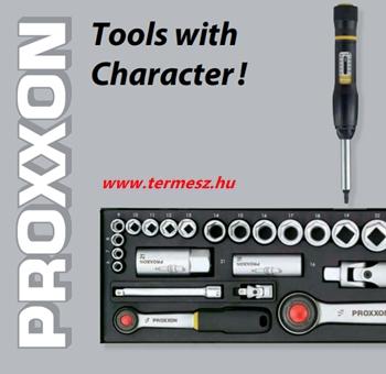 Karakteres őszi napok a Proxxon kéziszerszámokkal!