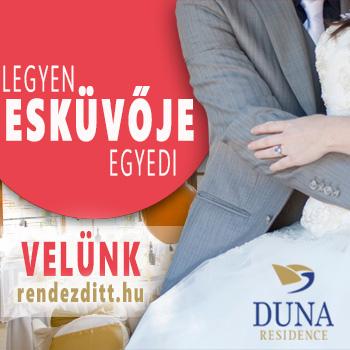 Esküvő? Duna Residence