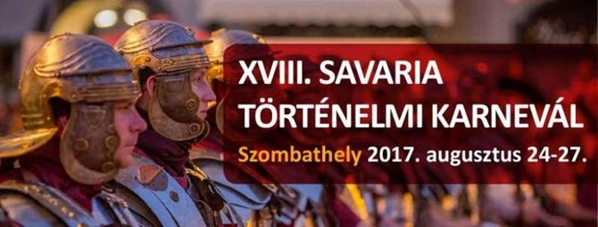 Savaria történelmi fesztivál - 2017