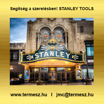 STANLEY szerszámok Budaörsön a Termesz Szerszámházban