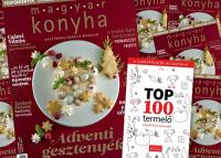 Magyar Konyha karácsonyra, benne termőföldtől az asztalig