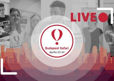 Idén április 23-án és 24-én úja Budapest Startup Safari, ezúttal online!