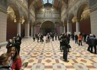 Újra kinyit a Szépművészeti beázott Román Csarnoka