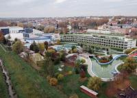 Négycsillagos hotel épül Kaposváron, közvetlen átjárással a fürdőbe