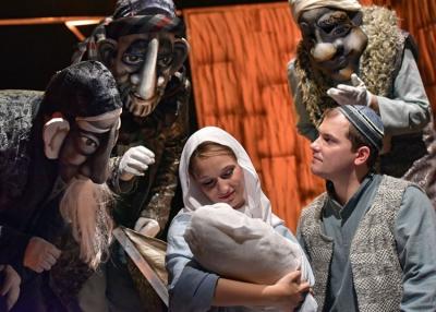 Harlekin Bábszínház: Egy jeles nap - Zenés maszkajáték Jézus születéséről, 2019. december 8.
