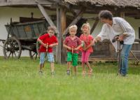 Lesznek nyári táborok a Skanzenben